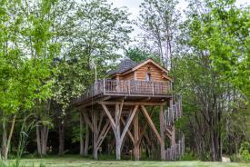 Château dans les arbres Gascogne