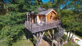 Château dans les arbres Guyenne