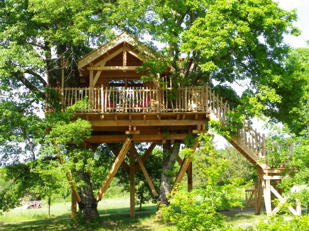 Domaine Ferme De Sirguet - Location cabane insolite